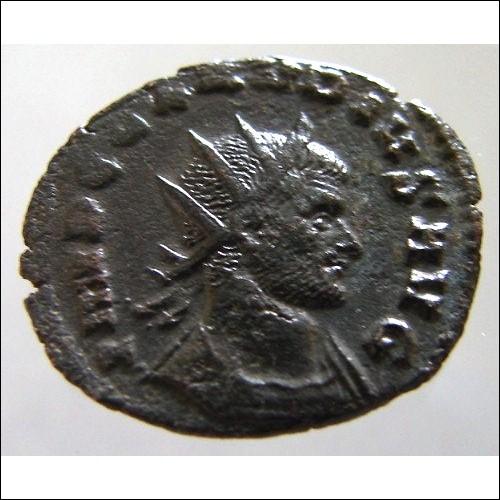 ANCIENT Roman Emperor CLAUDIUS II Gothicus 268 to 270 Ad Antoninianus Ae bronze