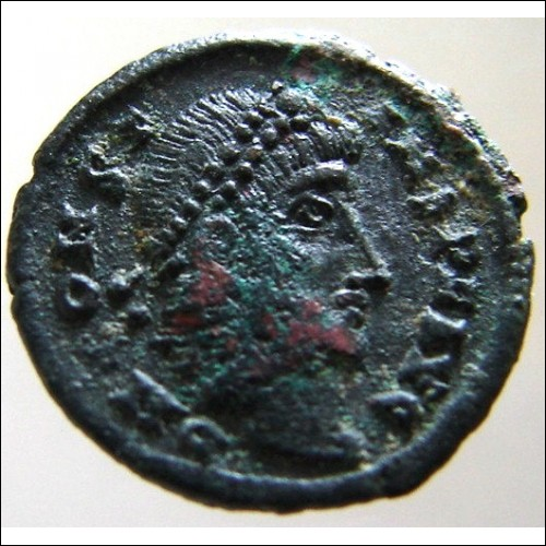 ANCIENT ROMAN Emperor CONSTANS As Augustus 347 to 348 Ad Cyzicus mint Ae4 bronze