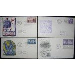 Four U.S. first day covers
