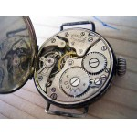 WW1 Trench Watch For Repair/Parts Lanco movement