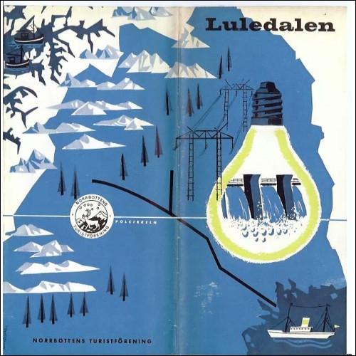 Polar Circle Lappland Luledalen Sweden 1959