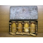 Complete box of Druckzünder 35 ,4 fuzes for german AT mine,WWII