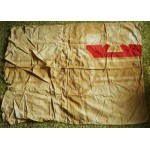 Extremely rare German WW1 military Regimental Flag, banner pennant cross badge