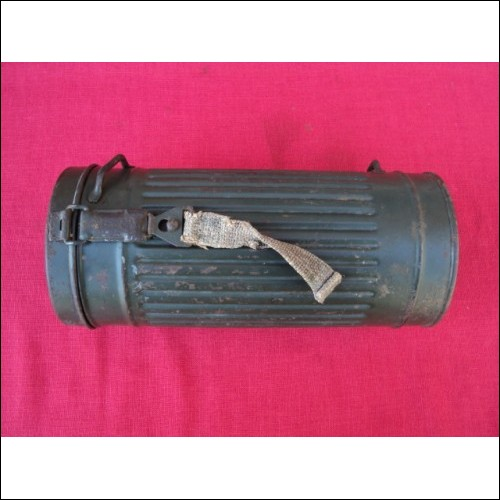 WW2 GERMAN  Gas Mask Box Container ORIGINAL!