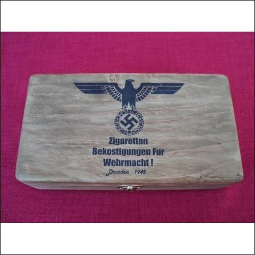 WWII German Wooden box for cigars