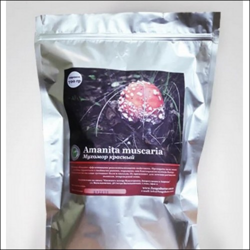 Amanita muscaria fly agaric 1oz 29grm extra quality cap dried grind