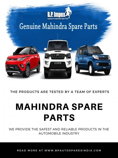 The Top Most Mahindra Spare Parts Supplier