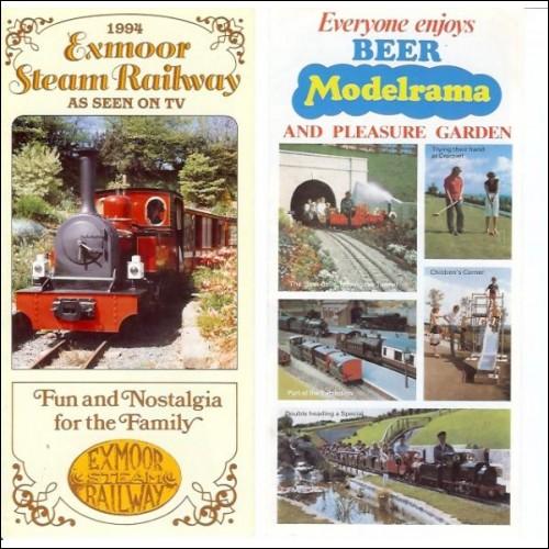 Beer Heights Light Miniature Railway Peco Modelrama Exmoor Steam Devon