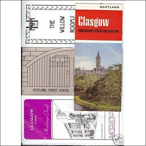 Glasgow C R Mackintosh University Willow Rooms old lfts