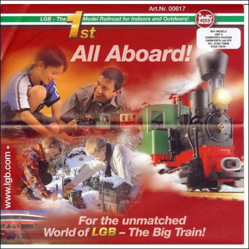 LGB Lehmann A2 folded poster in english art.nr.00617 c2004