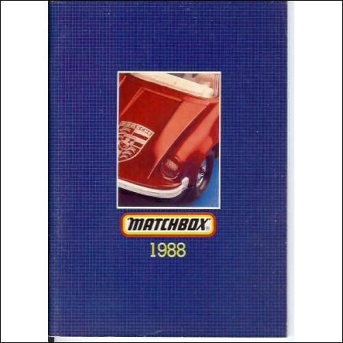 Matchbox once Lesney catalogue 1988  about 80 pages UK Superkings etc