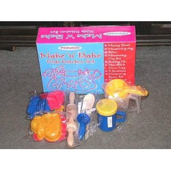 PROGRESS MAKE'N'BAKE CHILDREN'S BAKING SET (NEW IN BOX)
