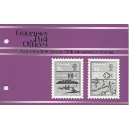 1982 75th Anniversary of Scouting Guernsey Pack