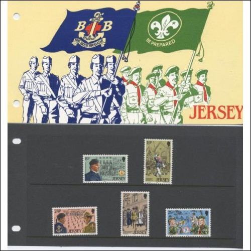 1982 75th Anniversary of Scouting Jersey Pack