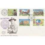 1982 Isle of Man Scouting First Day Cover