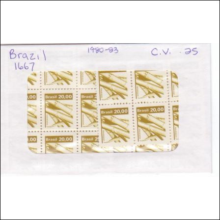 Brazil # 1667 MNH Wholesale Lot of 50 stamps