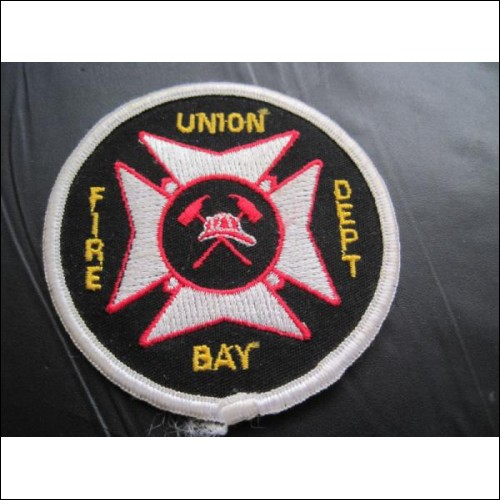 UNION BAY FIRE SERVICE FIRE DEPARTMENT CLOTH BADGE