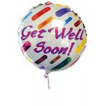 Get well soon. Helium balloon
