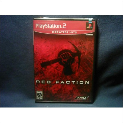 "Playstation2 Action And Puzzle Game - ""THE RED FACTION"""