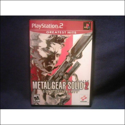 """Playstation2 Action And Puzzle Game - """"METAL GEAR SOLID TWO"""""""