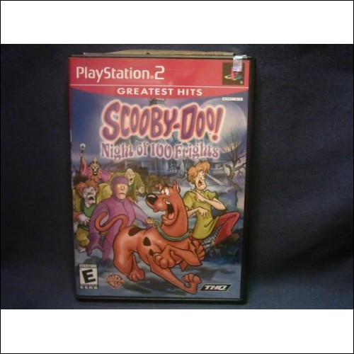 Playstation2 Game-Greatest Hits SCOOBY- DOO Nights Of The 100 Frights - **(Free