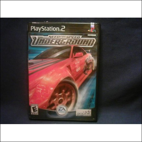 "Playstation2 Racing Game -""*NEED FOR SPEED - Underground*""- **(Free Shipping)**"