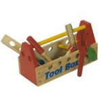 Wooden Toys : Tool Box and tools from Uwoodtoys