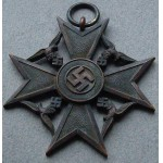 Rare Original WW2 German Spanish Honor Cross for the Next of Kin - #701