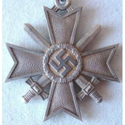 Extremely rare Original German WW2 Knights Cross of the War Merit Cross  - #1985