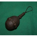 German ww1 M17 egg grenade with friction fuze. INERT.