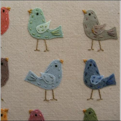 'Happy Little Birds' by Helen Drewett