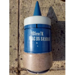 105mm TK L7 DS Practice Projectile Complete With Transit Tin - Good
