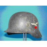 "RARE GENUINE WWII GERMAN STEEL HELMET  ""GOOD CONDITION"""