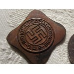 NSDAP PARTY BADGE MIS-STRIKE