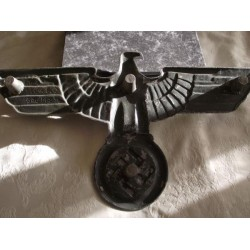 GERMAN WW2 ORIGINAL LARGE RAILWAY CARRIAGE EAGLE