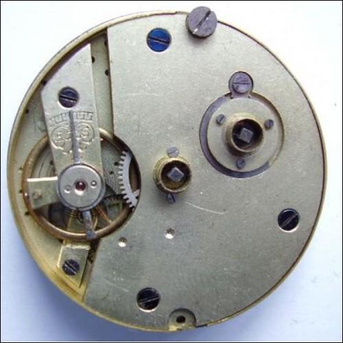 vintage J G Graves pocket  watch movement