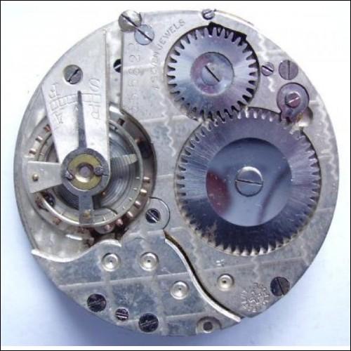 vintage sanders  pocket  watch movement