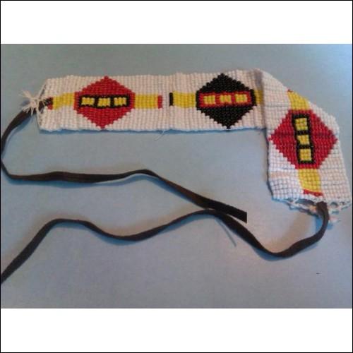Traditionally Woven, Native American Choker.