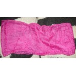 HOT PINK SILKY SHEER SCARF-GLAM GOTH EMO BELLY DANCER